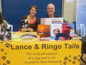 Reading Festival authors Bria Burton and J Gerard Michaels